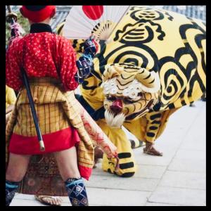 香川県の虎獅子