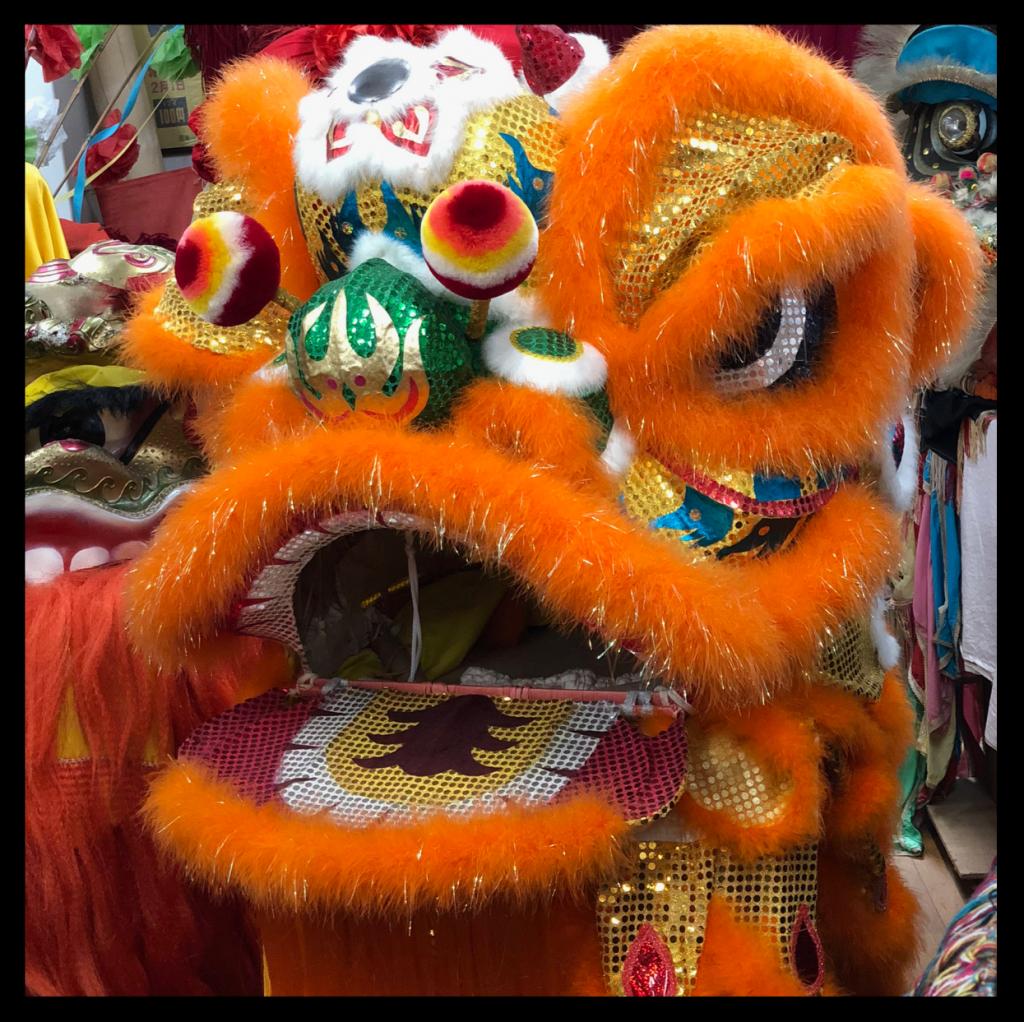 中国の獅子