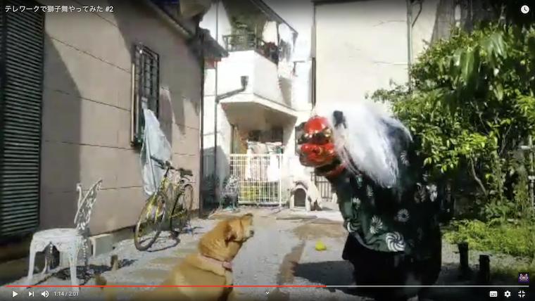 獅子vs犬