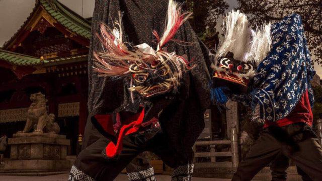 11月29日は獅子舞のライブ配信